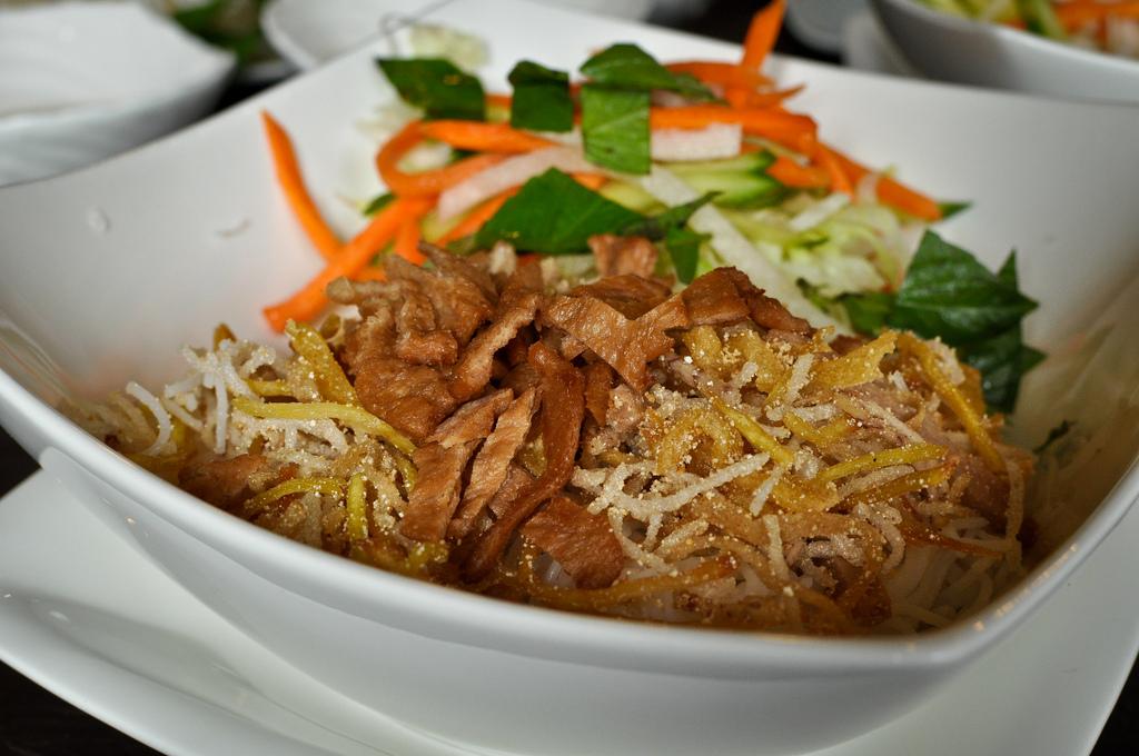 Three jewels restaurant brings vegan vietnamese food to for V kitchen restaurant vegetarian food
