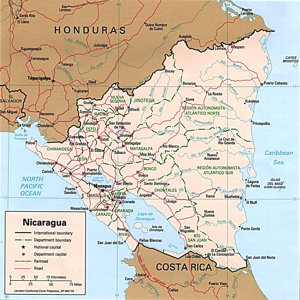 the geography population and politics of nicaragua Geography :: nicaragua political turmoil a population pyramid illustrates the age and sex structure of a country's population and may provide insights.