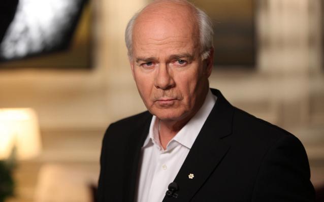 Peter Mansbridge of CBC