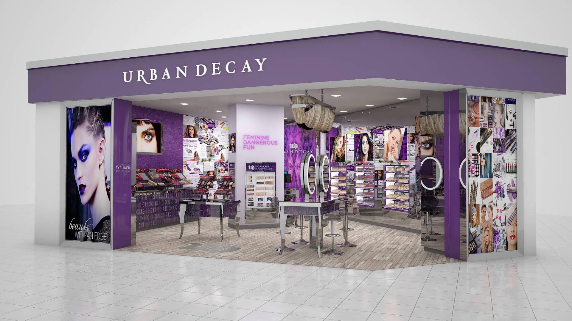 Urban Decay. Create bold looks with Urban Decay makeup from Belk. Add natural color to your complexion or experiment with the latest trends like nude lips and smoky eyes. From shimmer and gloss to matte colors, Urban Decay cosmetics carries the tools .