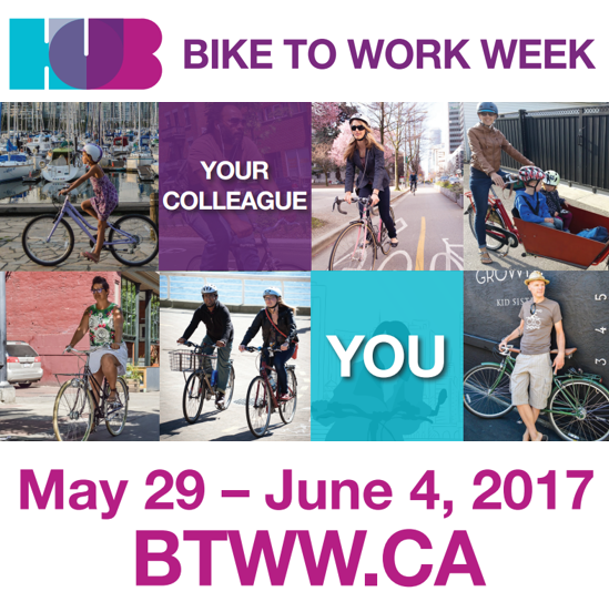 May The 4th Be With You Vancouver: The Georgia Straight Proudly Sponsors HUB Cycling's Bike
