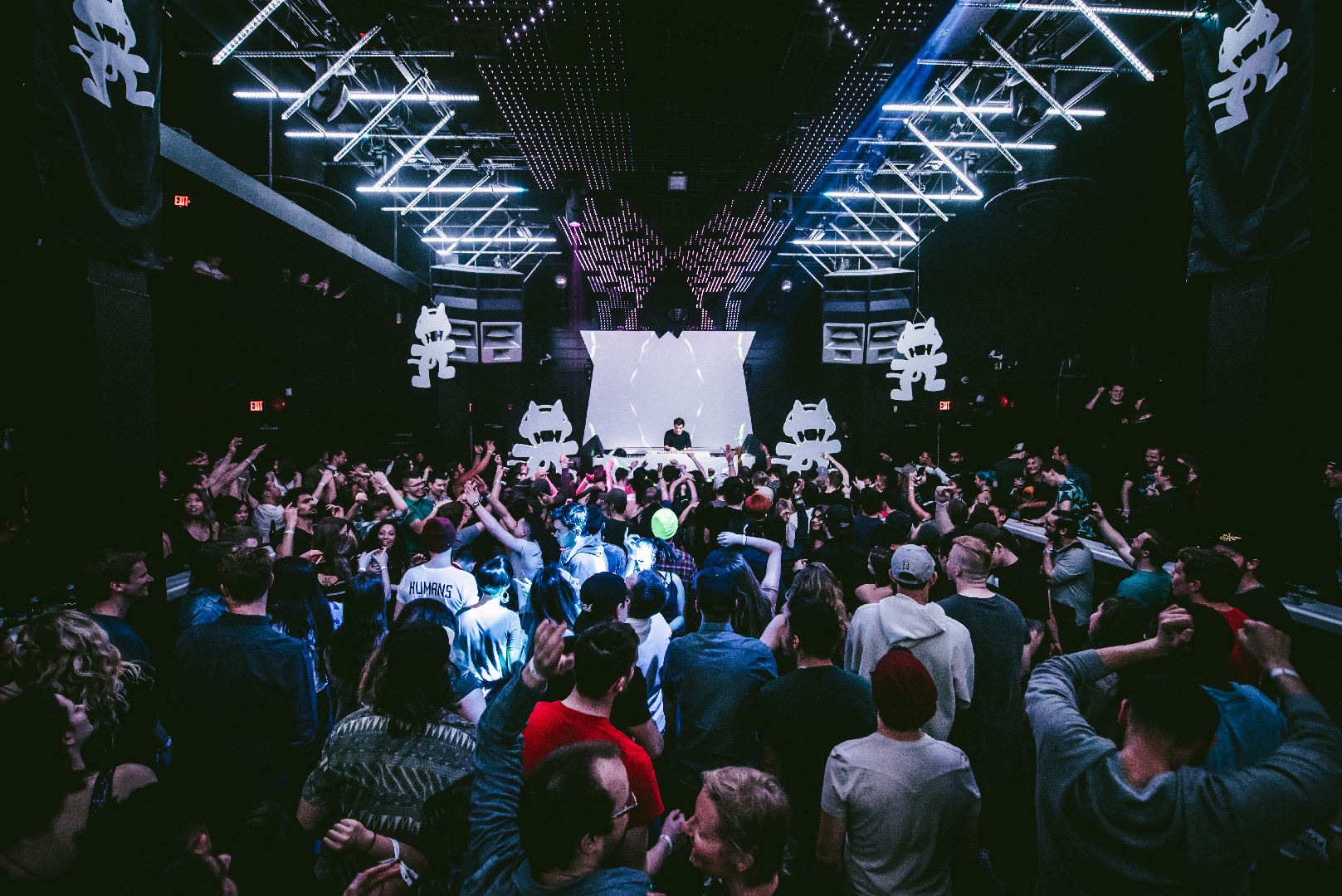 Monstercat Record Label Opens Its Doors For A Street Party