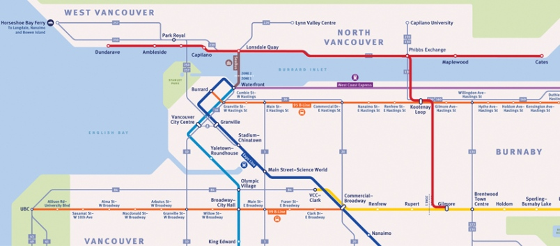 North Vancouver Mla Proposes Skytrain Route Running From