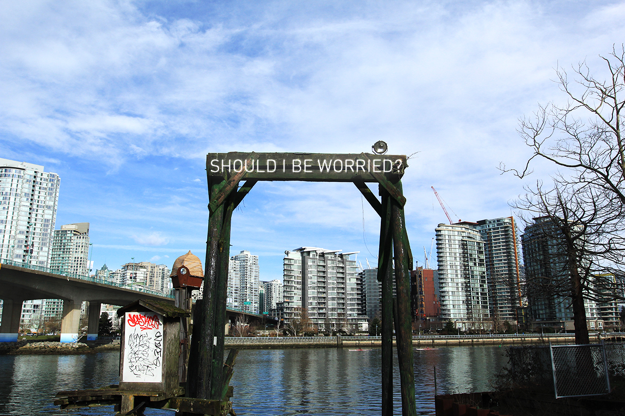 City of Vancouver unveils new neon text artwork in False Creek
