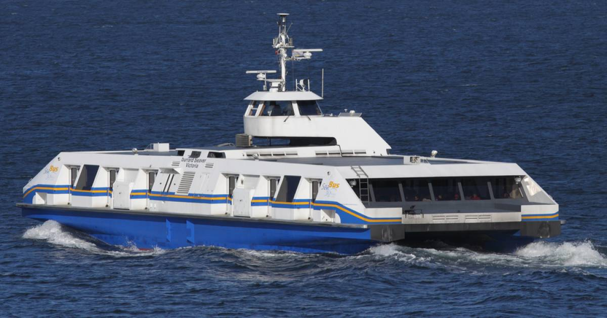 309c558e752 Water buses proposed for Fraser River in Metro Vancouver   Georgia ...