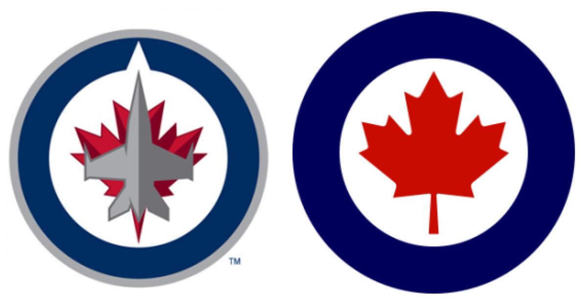 derrick o�keefe new winnipeg jets logo another sign of