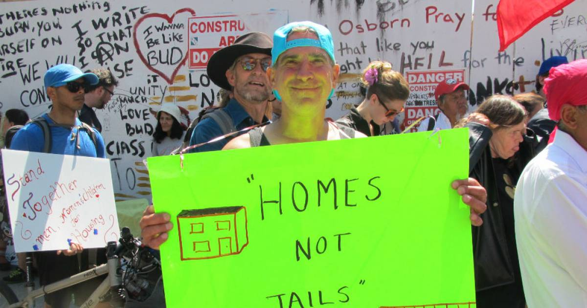 """Poor people will gather outside Port Coquitlam courthouse in rally against """"anti-homeless hate"""""""