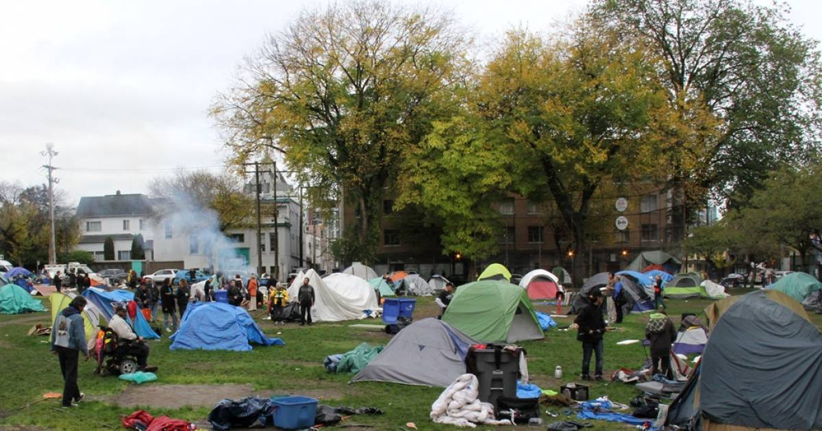 """More than 119"" people experiencing homeless in Oppenheimer Park"