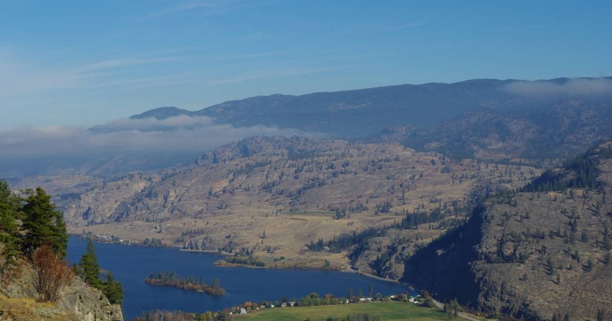Kelowna South-Central Okanagan /— Revised /& Updated Penticton Popular Day Hikes Oliver