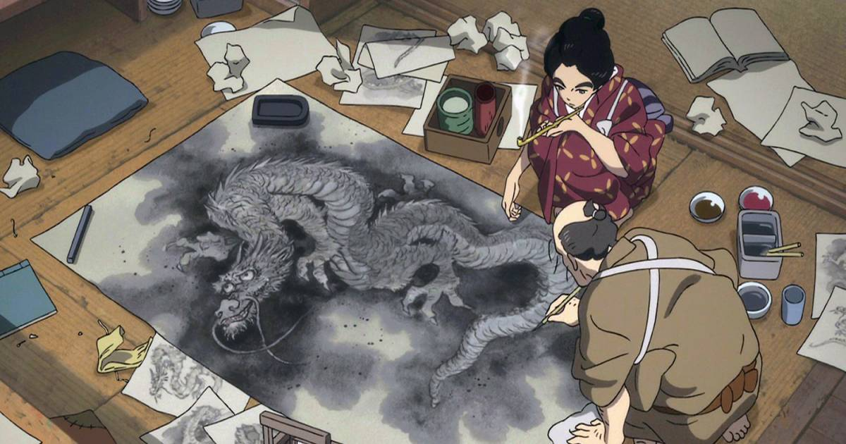 Miss Hokusai Animates Its Own Origins Georgia Straight Vancouver S News Entertainment Weekly