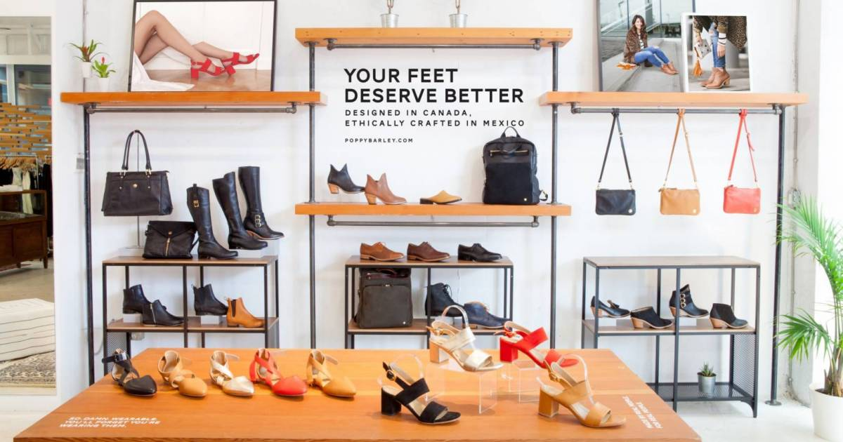 Ethical shoe biz Poppy Barley opens pop up shop in Vancouver