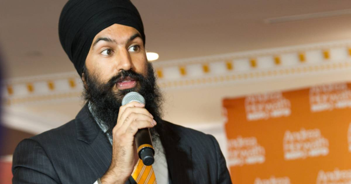 """Jagmeet Singh calls climate change """"the single greatest threat we face,"""" says Canada must declare emergency"""