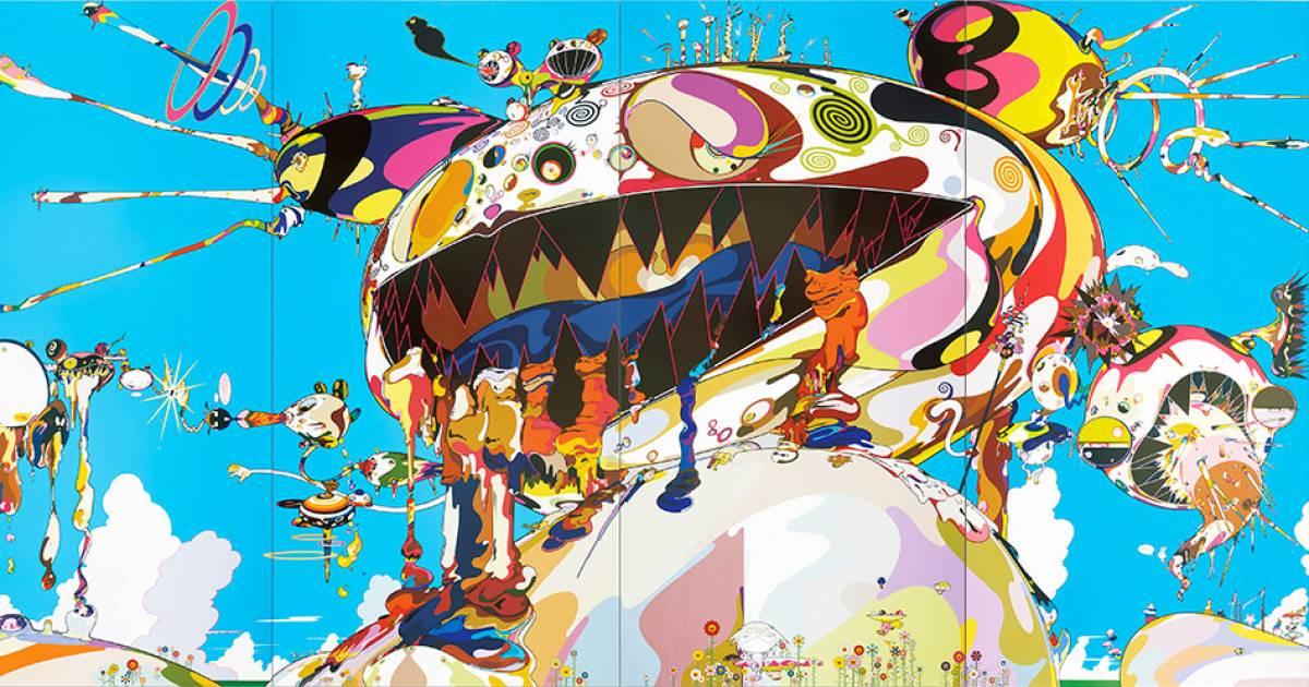 The mad genius of Takashi Murakami seizes the Vancouver Art Gallery