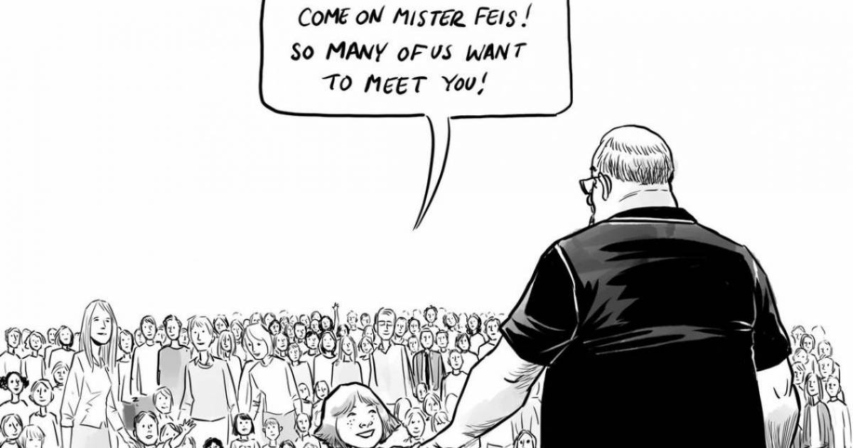 Vancouver illustrator's poignant editorial cartoon about