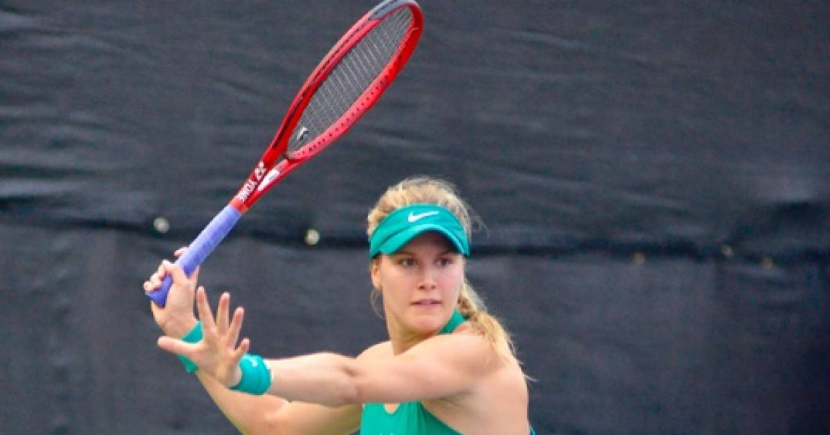 TMZ takes notice of Genie Bouchard playing beach volleyball in a cowboy hat