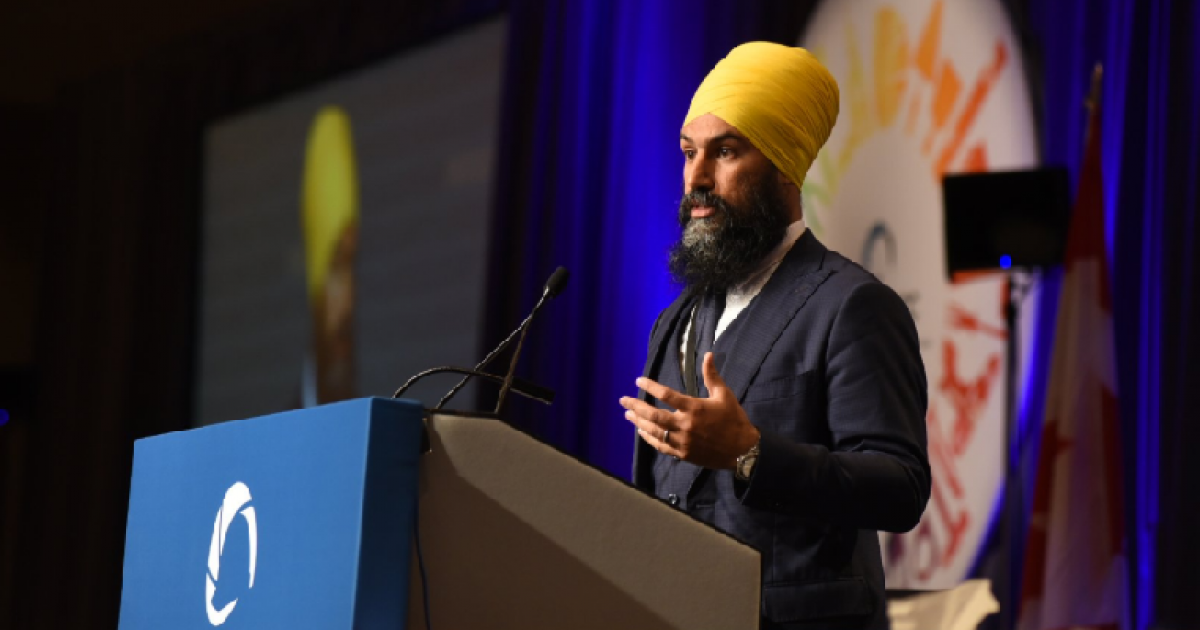 Angus Reid Institute poll shows continued momentum for NDP under Jagmeet Singh