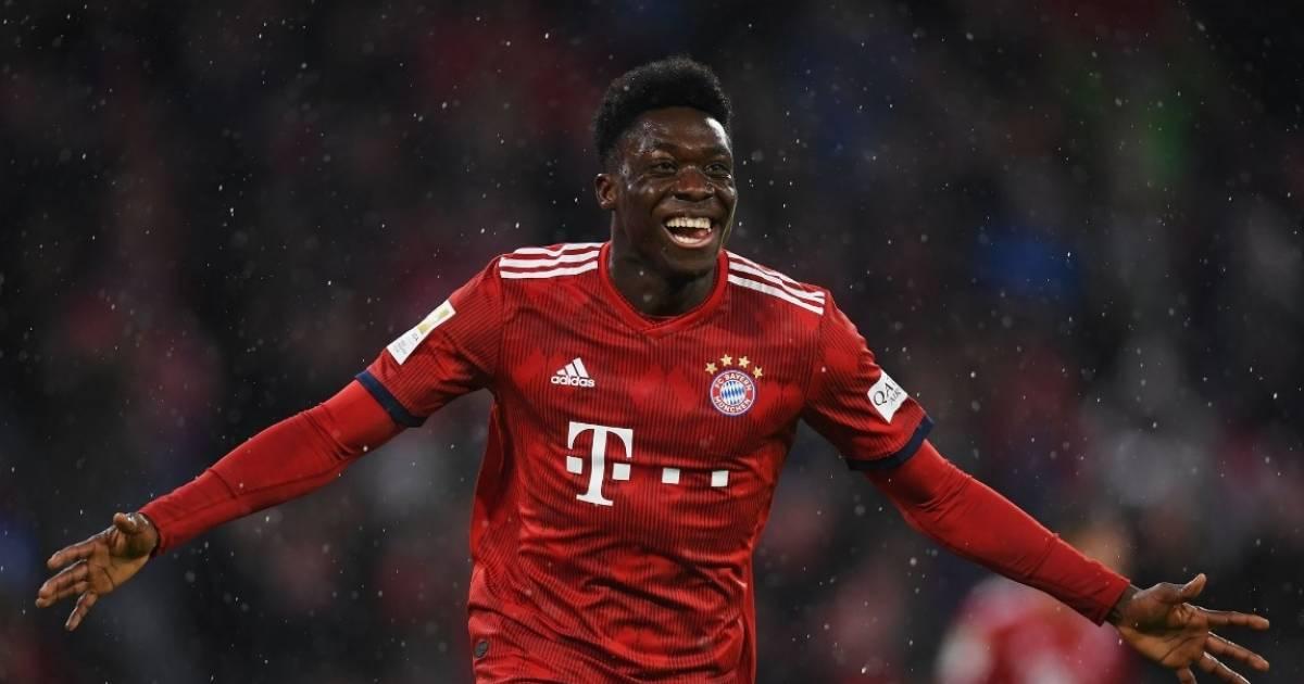 Former Whitecaps star Alphonso Davies scores first goal with Bayern Munich