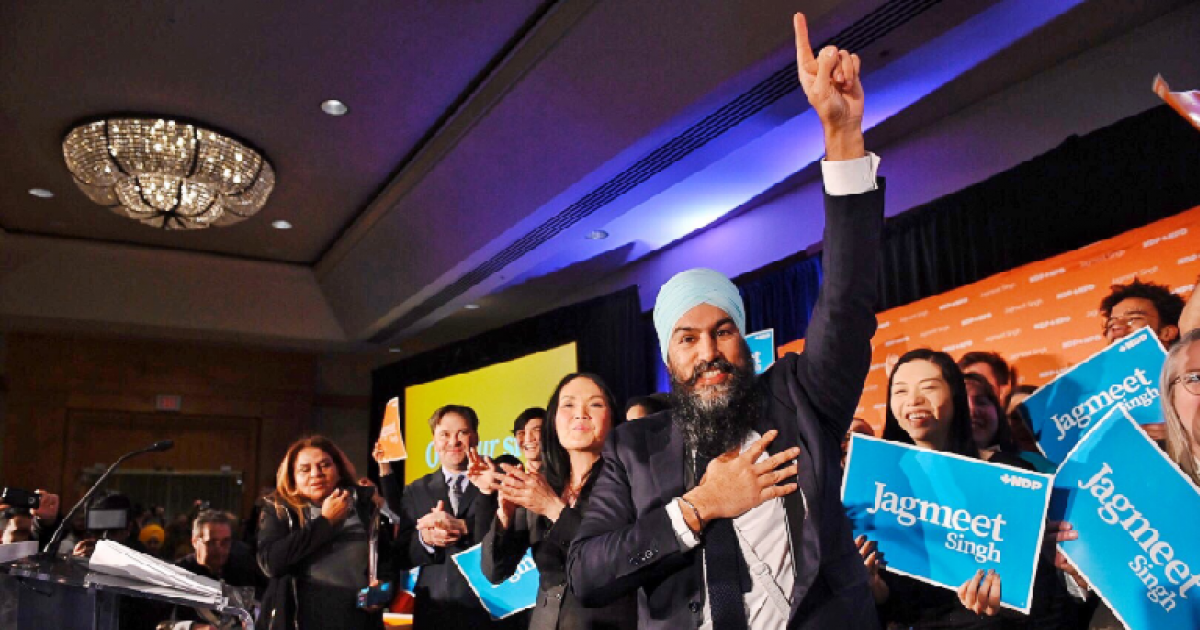 Here's why Jagmeet Singh and the NDP should not be written off in the Canadian election