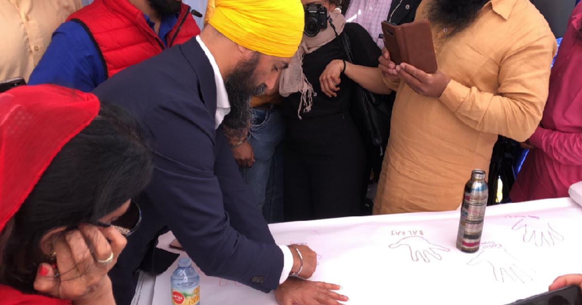Hundreds of thousands, including NDP Leader Jagmeet Singh, attend Surrey Vaisakhi parade
