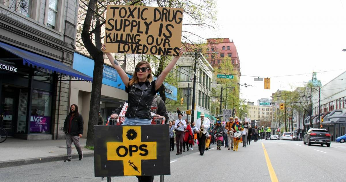 Regulate supply or deaths will continue, hundreds cry in Vancouver's annual march to end the overdose crisis