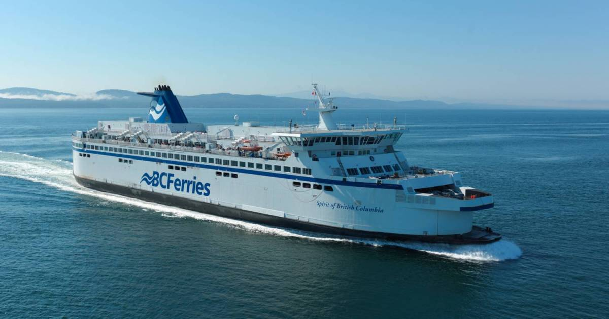 Ferry service delayed as Spirit of British Columbia kept at Tsawwassen terminal due to weather-related damage