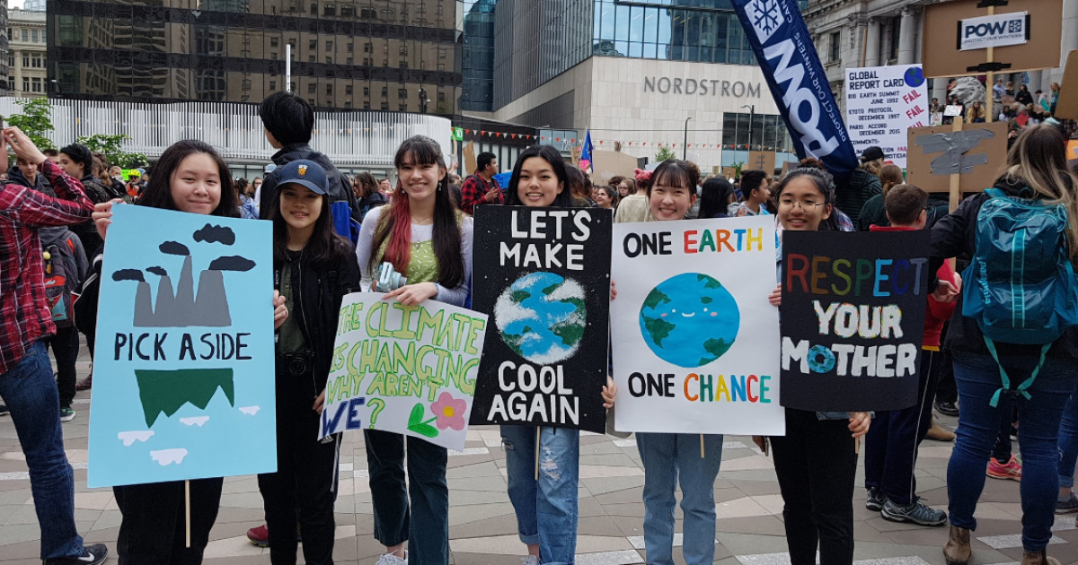 Direct action planned in downtown Vancouver as climate strikes attract huge crowds around the world