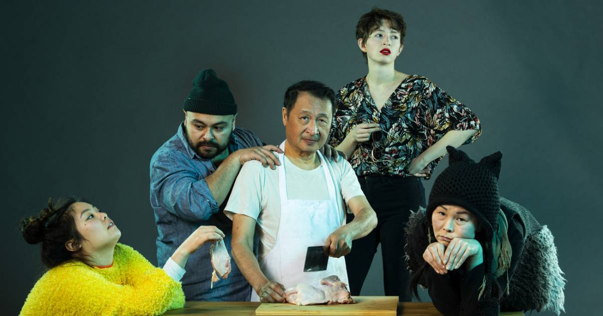 Magnetic North takes audiences on a surreal adventure with rice & beans' production of Chicken Girl