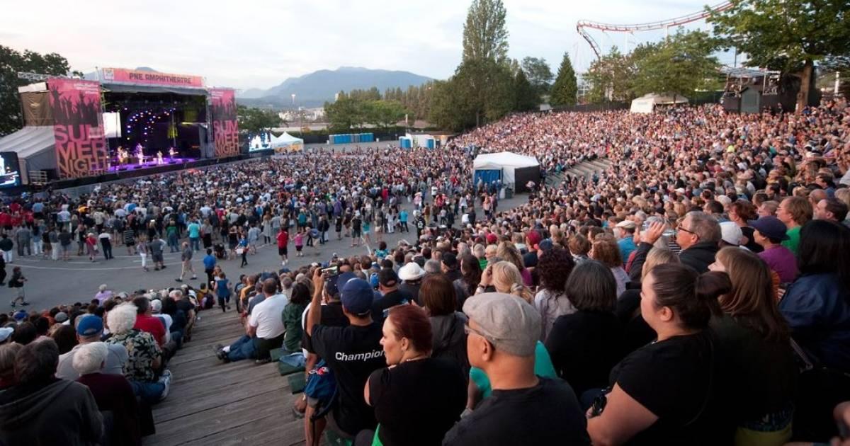 PNE Fair announces Summer Nights Concerts lineup and fan-favourite entertainment