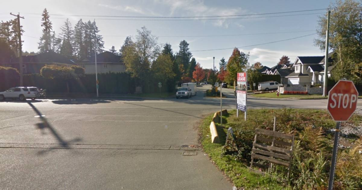 Two people seriously injured after motorcycle and car collide in South Surrey