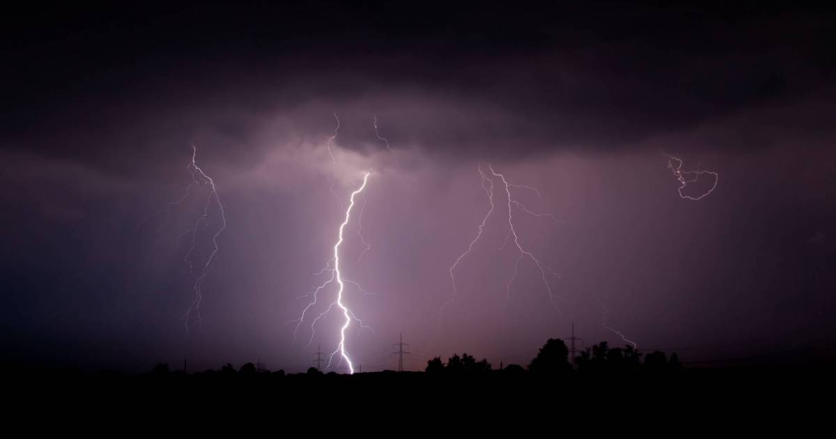 Risk of thunderstorms this evening in Metro Vancouver