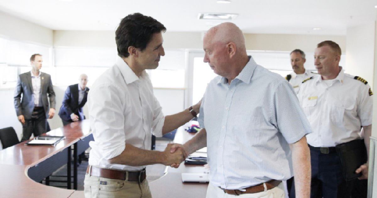 Justin Trudeau offers preview of Liberal campaign at Hats Off Day in Burnaby