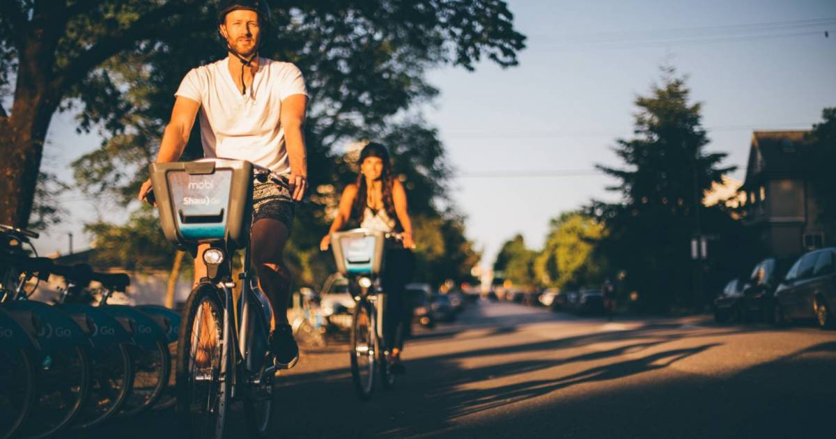 Mobi unveils new helmets for Vancouver's bike-share system