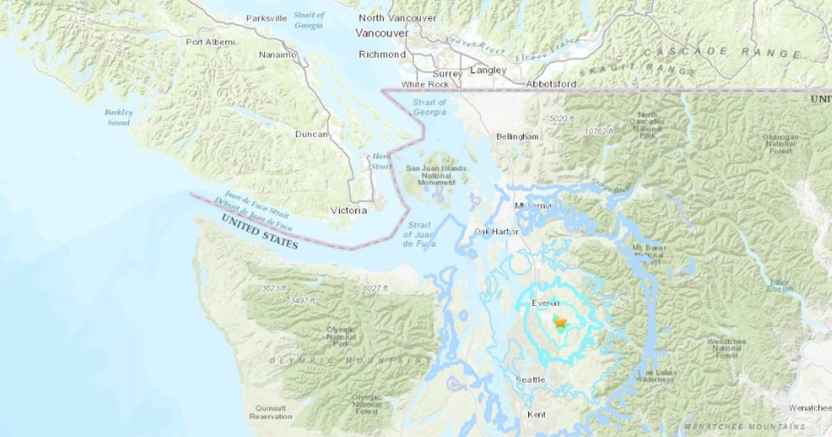 Seattle and Puget Sound region shaken by 4.6-magnitude earthquake
