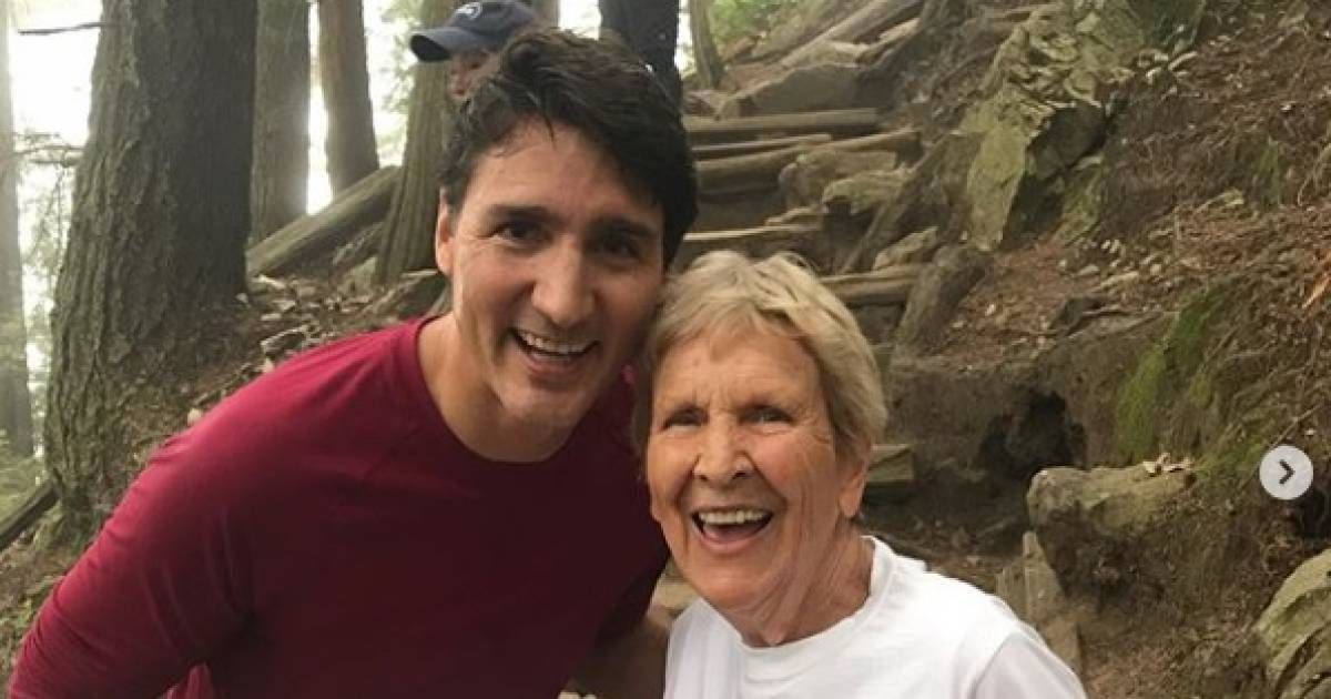 Justin Trudeau returns to the Grouse Grind in North Vancouver