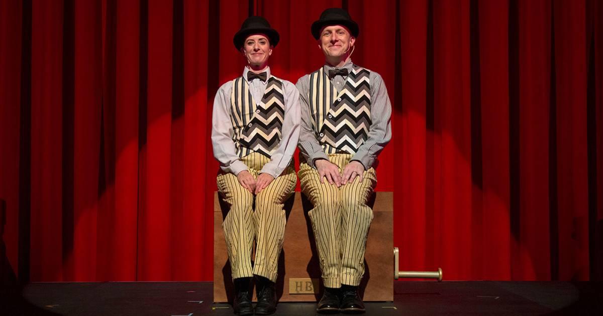 Duo swaps starring role in new take on Tom Cone's weird, wild Herringbone