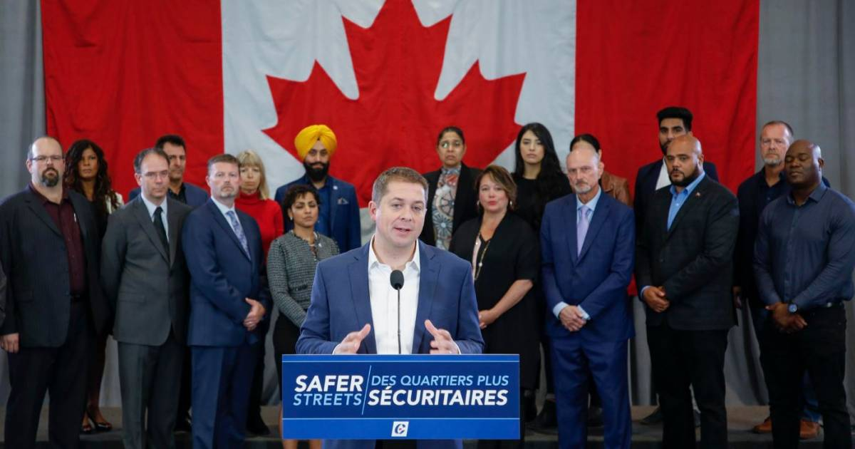 Path to Andrew Scheer-led majority government tough but not inconceivable, says B.C. academic