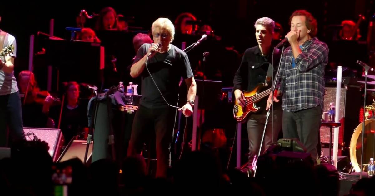 Video: Eddie Vedder joins the Who onstage in Vancouver