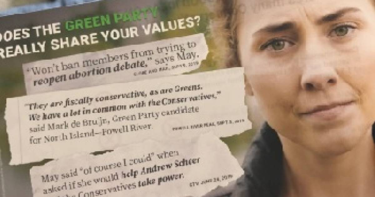 Greens cry foul over NDP leaflet distributed to southern Vancouver Island homes