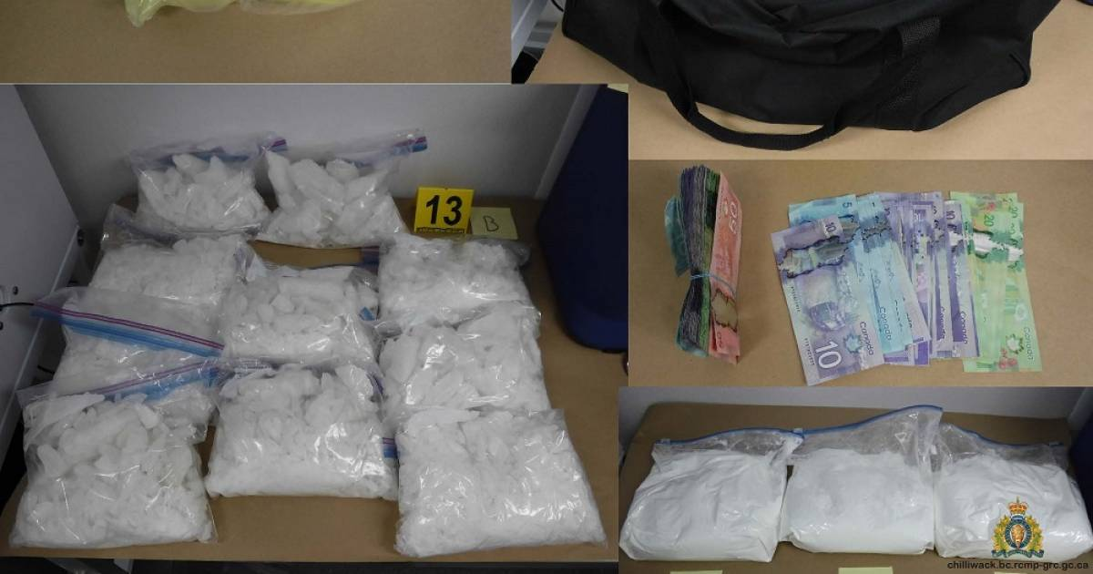 Police seize meth and fentanyl stash in Vancouver believed to be intended for Chilliwack