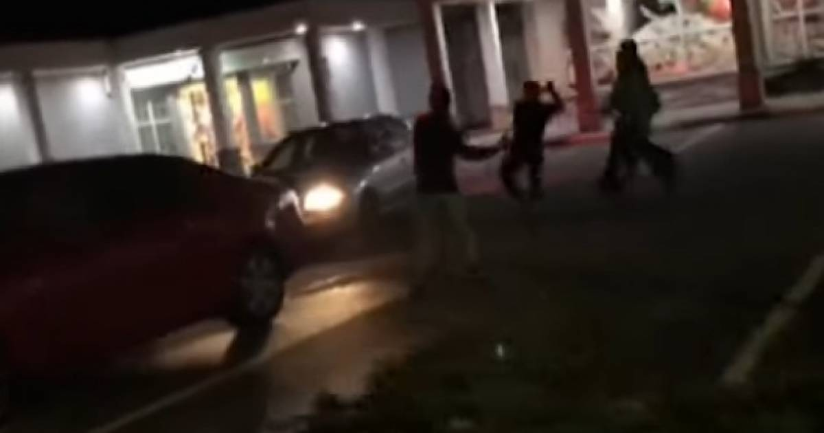 Video: Gang of pipe-wielding thugs go on rampage in Surrey parking lot