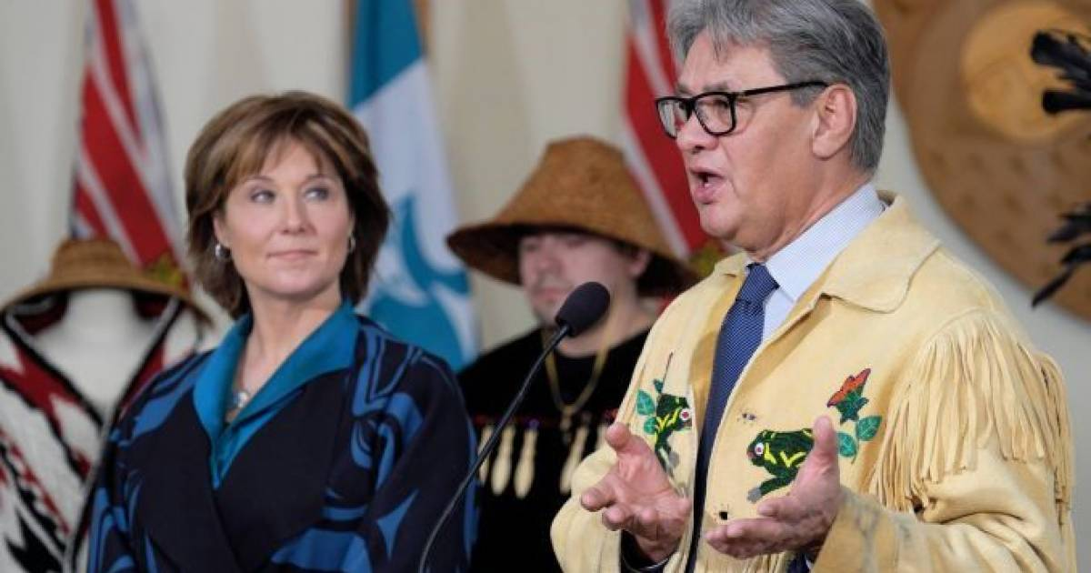 B.C. First Nations chief Ed John charged with sexual assault