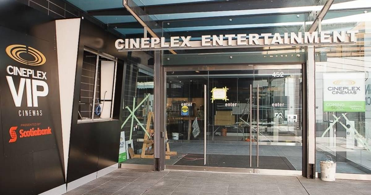 Cineplex sues U.K.-based Cineworld Group and B.C. numbered company for $2.18 billion