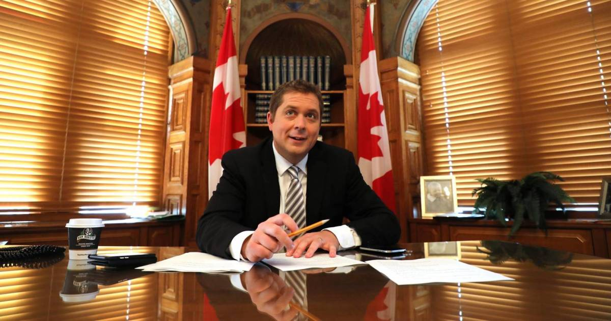 #StandwithScheer campaign launched to try to save Conservative leader's job