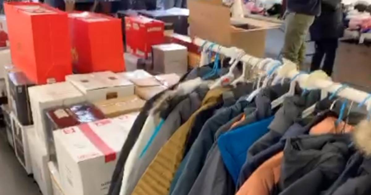 Police bust black market operation at East Vancouver house selling $130,000 worth of clothing and alcohol