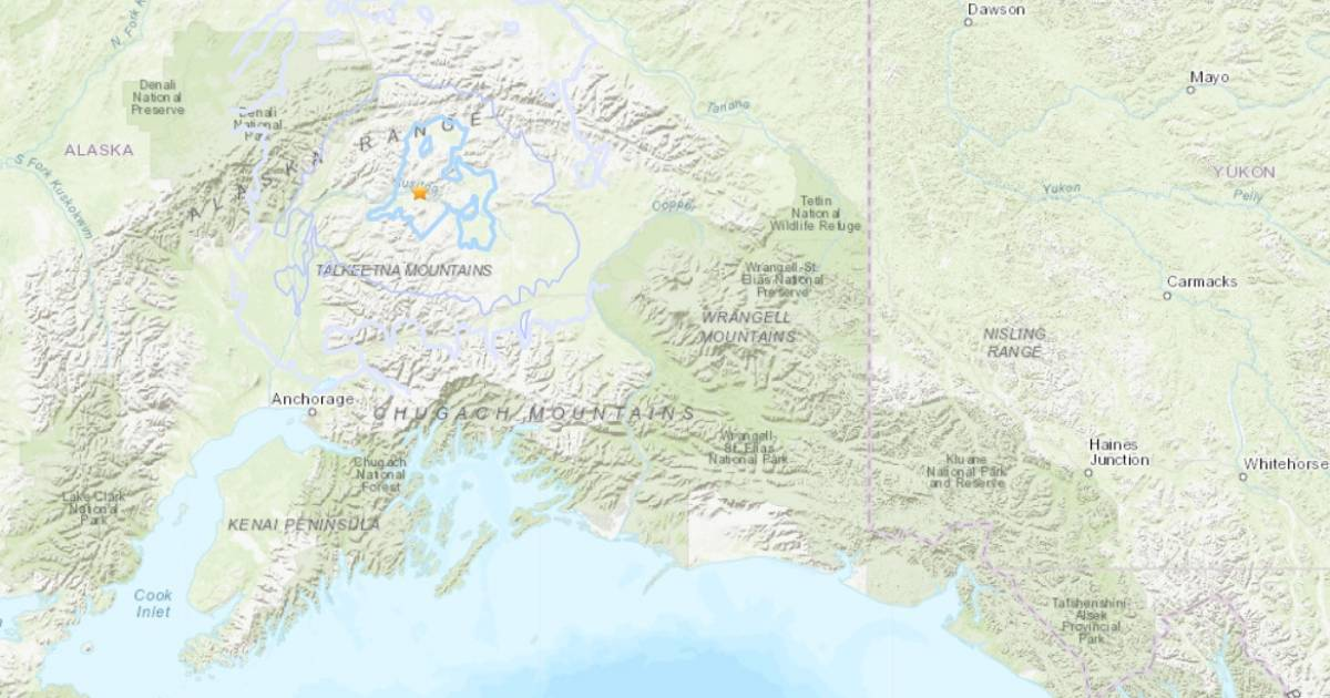 Two earthquakes occur in central Alaska and Aleutian Islands on January 17