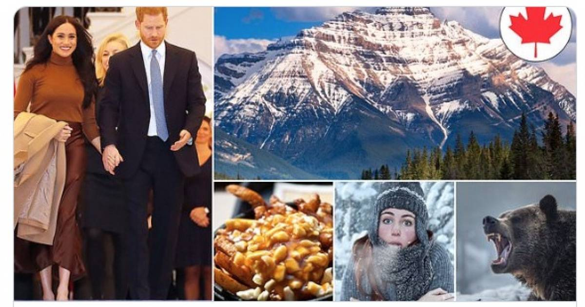 U.K.'s Daily Mail warns Harry and Meghan that Canada's full of vampire flies, morally bankrupt bears, and poutine