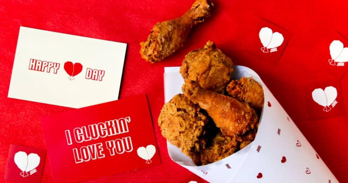 Juke's popular fried-chicken bouquets to return for Valentine's Day 2020