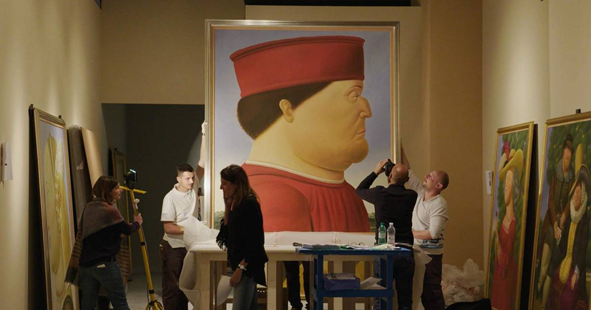 Documentary Botero plumps up the image of the world's best-selling artist