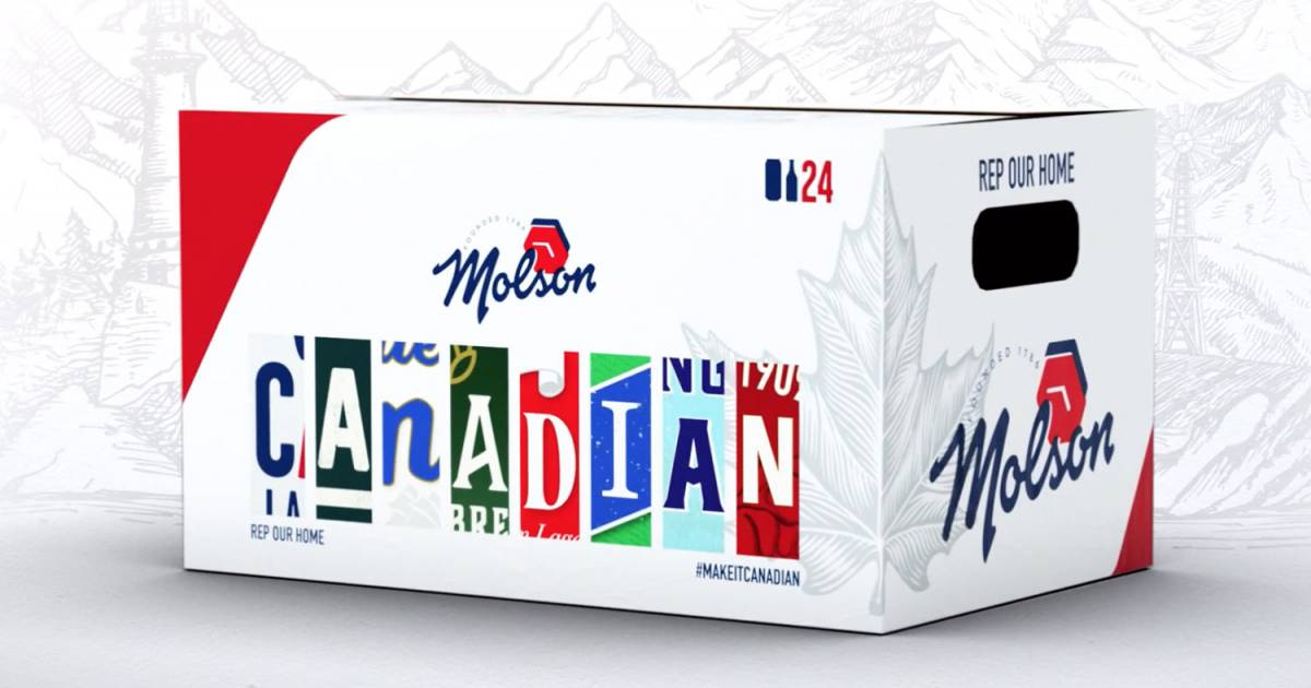 Molson #MakeitCanadian cases send a message that, as patriots with a love for beer, we're all in this together