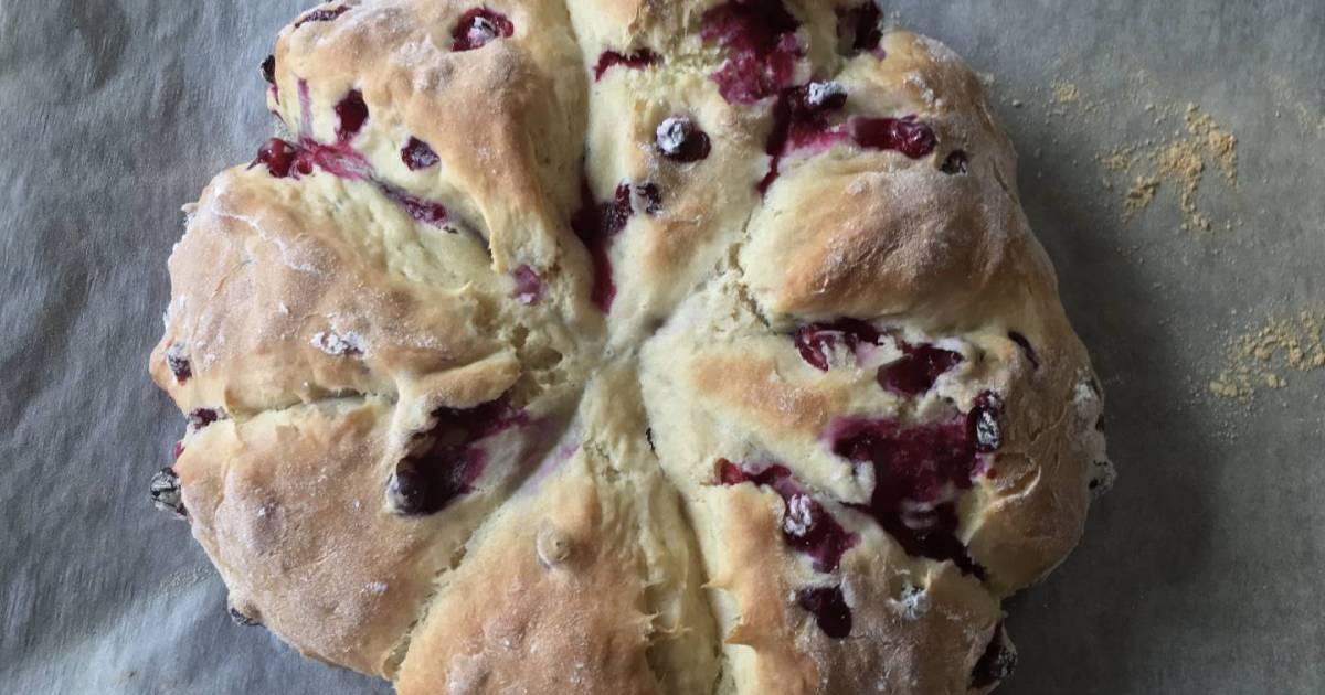 Got starter? Make the Boreal Gourmet's delicious sourdough berry scones